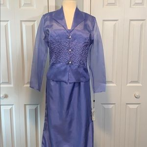 NWT Jovani 2 pc formal mother of the bride dress